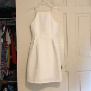 White Criss Cross Dress
